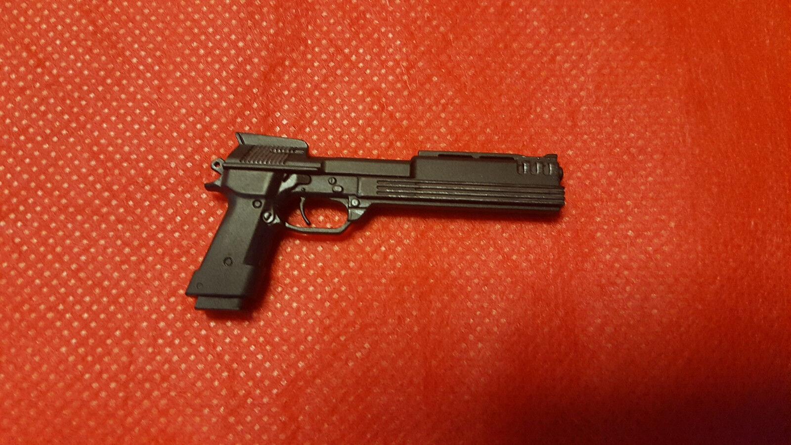 1   6 heißes spielzeug robocop (schlacht beschädigt) & alex murphy druckguss - pistole nur jc
