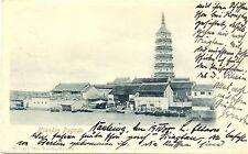 China, nanjing, nyankin pagode, Marine-buque-post tras Hagenow, 1905