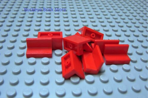 LEGO Red Panel 1 x 2 x 1 Lot of 8