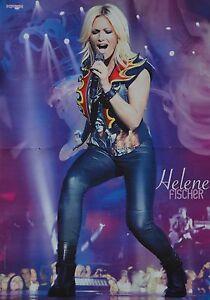 HELENE-FISCHER-A3-Poster-ca-42-x-28-cm-Plakat-Schlager-Fan-Sammlung-NEU