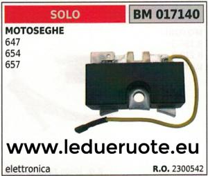 2300542 BOBINA ELECTRÓNICA UNIDAD DE CONTROL MOTOSIERRA SOLO 647 654 657