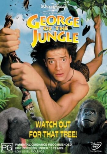 1 of 1 - George Of The Jungle (DVD, 2002)