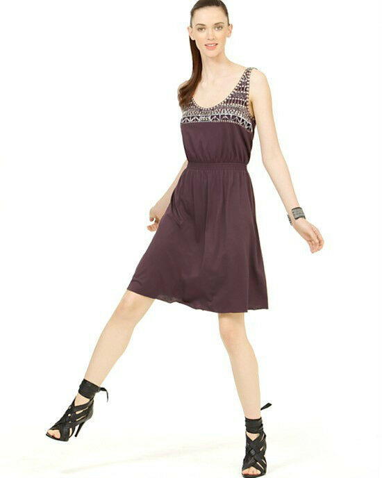 Tory Burch Bornite Embellished Dress  M