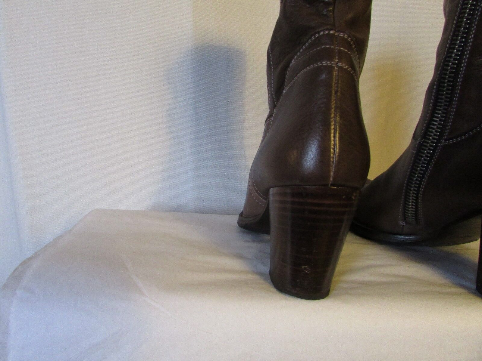 boots/bottines PAUL SMITH cuir taupe 37,5