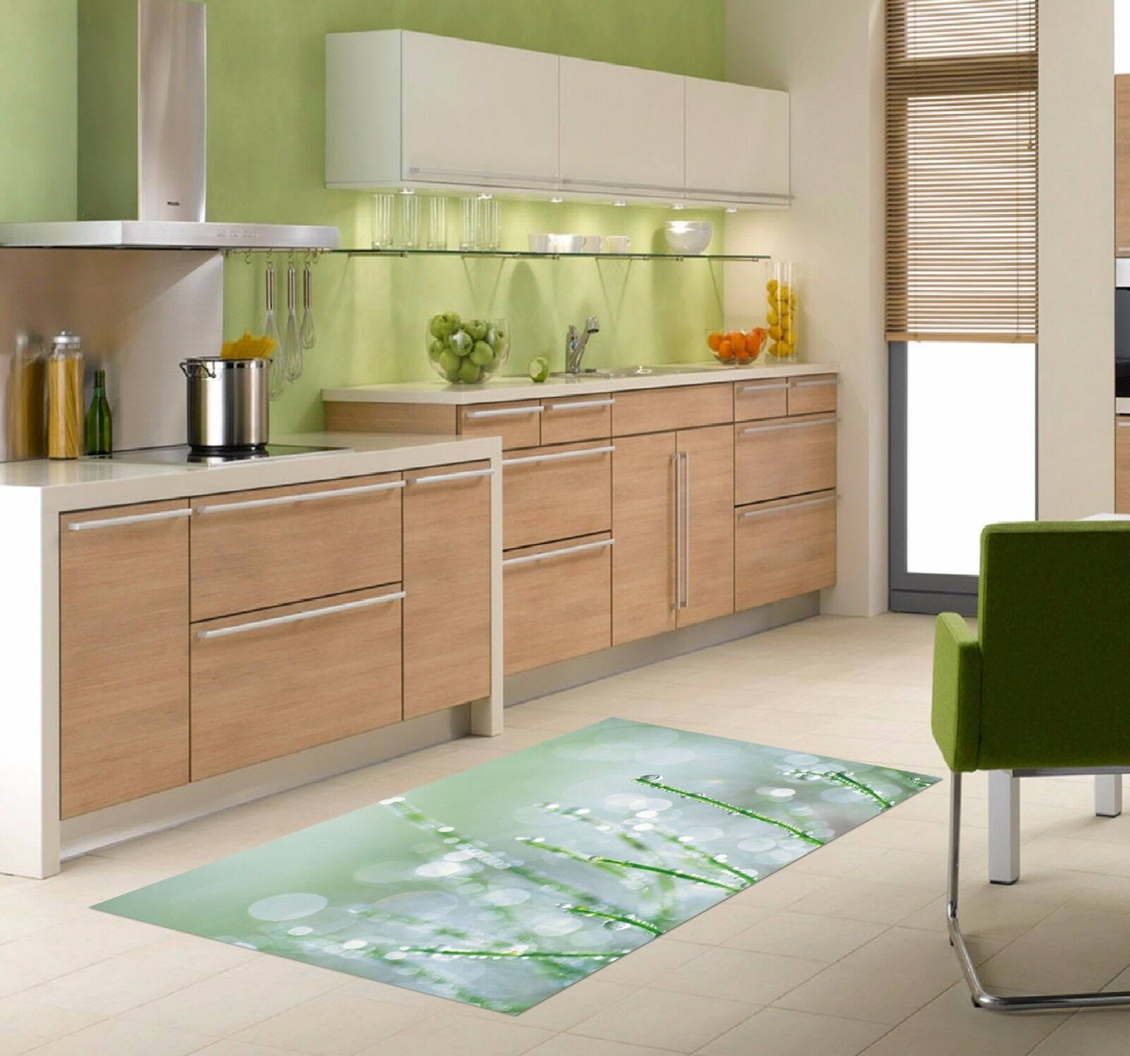 3D Fresh Dew 114 Kitchen Mat Floor Murals Wall Print Wall Deco AJ WALLPAPER AU