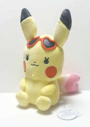 ITS/' DEMO Pokemon Plush Doll Summer Pikachu 26cm 4549466048189