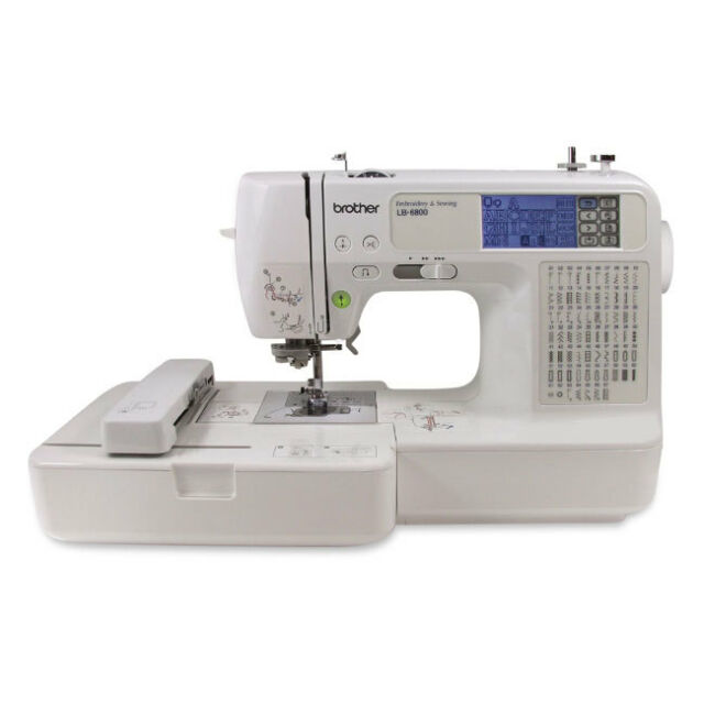 Brother LB40PRW Mechanical Sewing Machine EBay Mesmerizing Brother Se400 Computerized Sewing And Embroidery Machine Refurbished