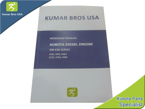 New Kubota D902 WORKSHOP MANUAL