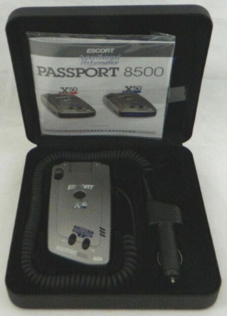 Escort Passport 8500 X50 BLue LED Auto/Radar/Laser