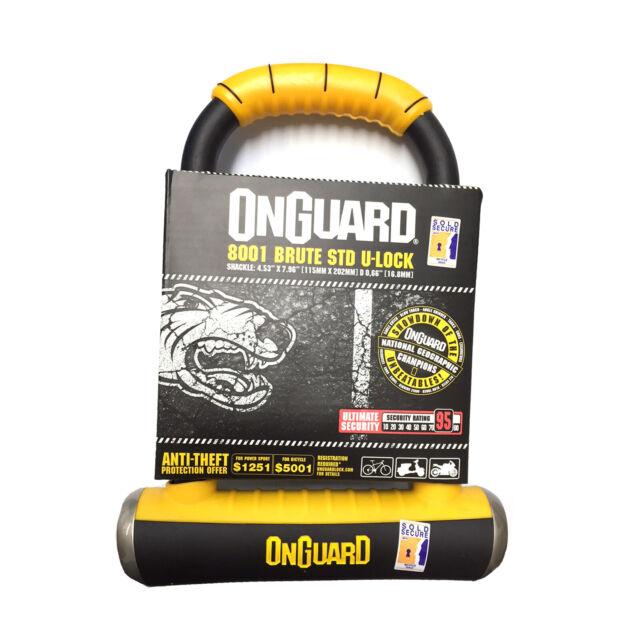 OnGuard Brute LS Bike U-Lock 8000