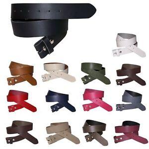 Fronhofer Cinturón 3Cm, Cinturón sin Hebilla, Cinturón con Botón 18353