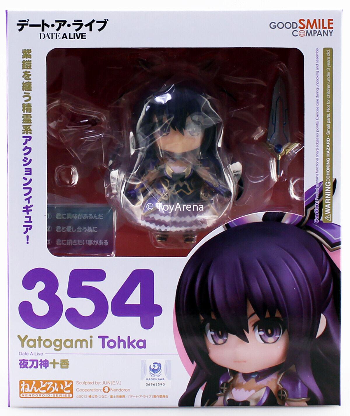 Nendoroid  354 Yatogami Tohka Date a Live Authentic Good Smile azienda