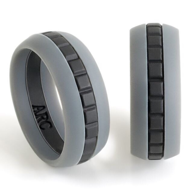 Silicone Wedding Ring.Mens Silicone Wedding Ring Band Size 10 2mm Thin Giving It A Sleek Profile