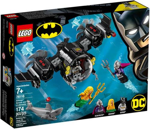 LEGO DC Super Heroes 76116 Batman nel Bat-U-Boot con Aquaman-NUOVO /& OVP