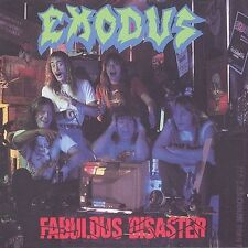 Fabulous Disaster by Exodus (CD, Feb-1989, Combat Records)