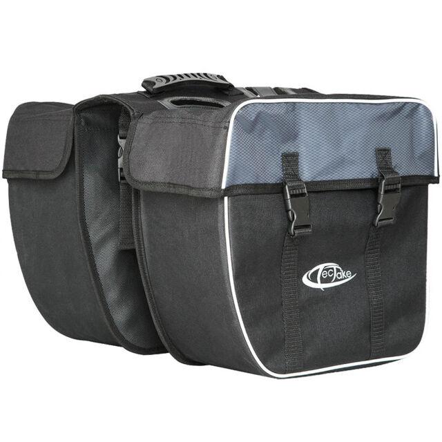 35l Double sacoche de vélo porte-bagage set de 2 sacoches cycle pannier sac set