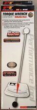 "PERFORMANCE TOOL 1/4"" BEAM STYLE TORQUE WRENCH 0-80 INCH POUNDS   M195"