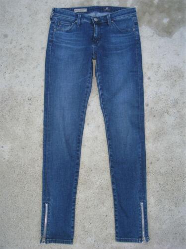 Sz Leggings Jeans Adriano Knöchel Goldschmied Reißverschluss 26 Skinny Ag xdoerCBW