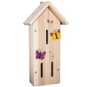 Paint Your Own Butterfly Insect House Hotel Garden Box Ebay