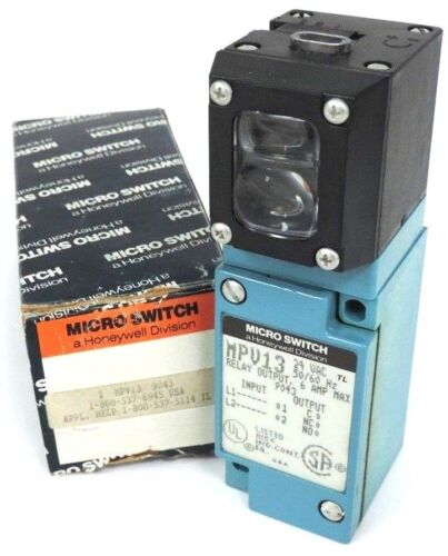 HONEYWELL MICRO SWITCH MPP1-8813 POLAR SCANNING HEAD W// MPV13 PHOTOELECTRIC BODY