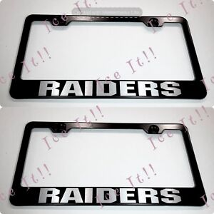 "2X /""Mercedes-Benz/"" Stainless Steel License Plate Frame Rust Free W// Bolt Caps"