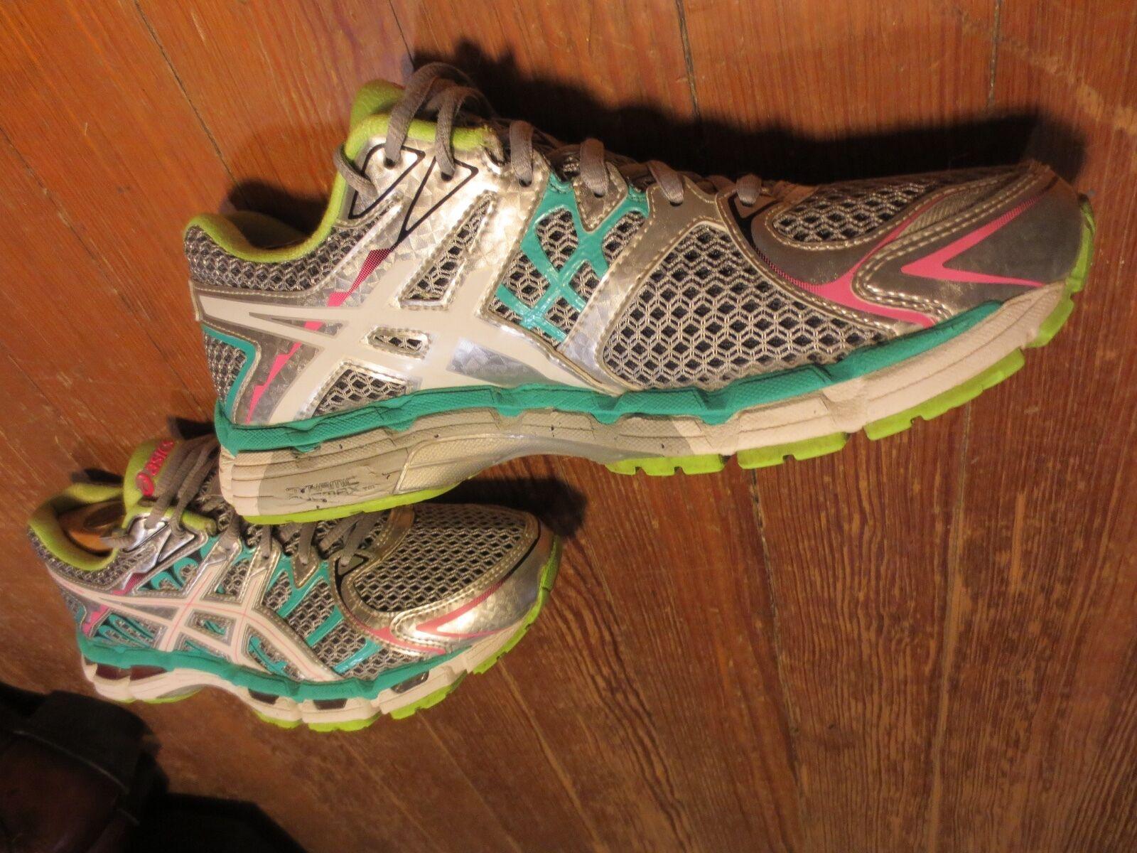 ASICS Gel Surveyor 2 Running Shoe - Titanium/White/Sharp Green Womens Sz 9 The most popular shoes for men and women