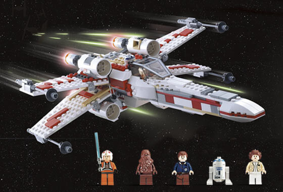 LEGO Star Wars 6212 6212 6212 X-Wing Fighter New in Unopened Box with Minifigures 78dd9e