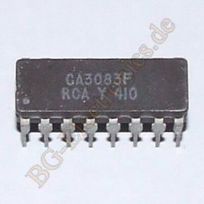 RCA CA3083F General Purpose High Current NPN Transistor CDIP16 X 1PC