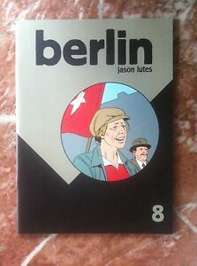 BERLIN-8-JASON-LUTES-DRAWN-AND-QUARTERLY-FIRST-PRINTING-NEAR-MINT-F53