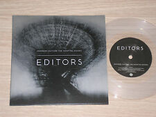 "EDITORS - SMOKERS OUTSIDE THE HOSPITAL DOORS - 45 GIRI 7"" LIMITED ED.CLEAR VINYL"