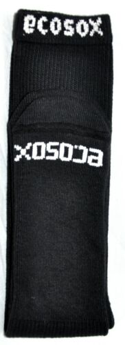 Ecosox Bamboo Over The Calf Tube Socks 3 Pair Kids Size 4-6 Made In The USA!!