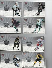 2005-06 FLEER ULTRA HOCKEY SCORING KINGS SET - CROSBY / OVECHKIN / GETZLAF