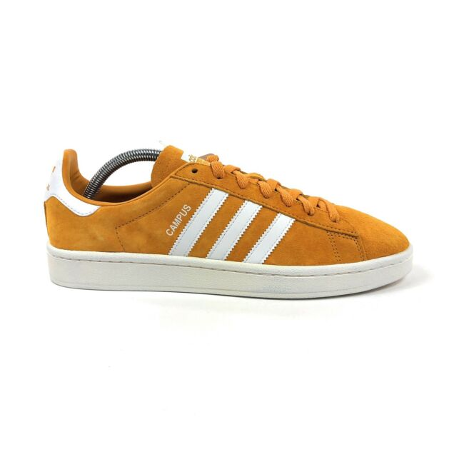 Adidas Originals Campus Tactile Yellow White Mens Low Size 9 Shoes BZ0088
