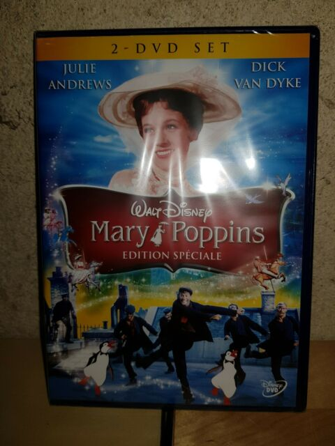 MARY POPPINS DISNEY n 21 DVD NEUF SOUS BLISTER