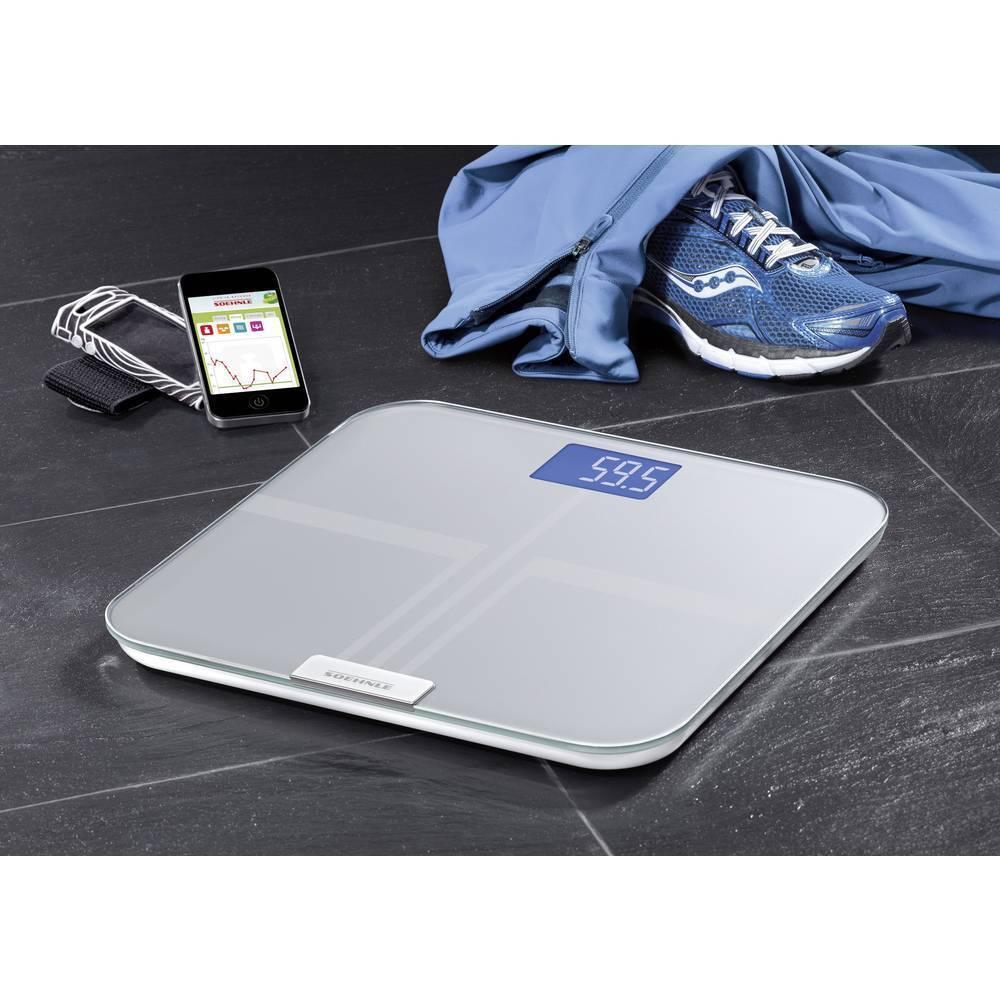 Soehnle WiFi Web Connect IMC analyse corporelle personnelle échelles LCD Glas iPad numérique