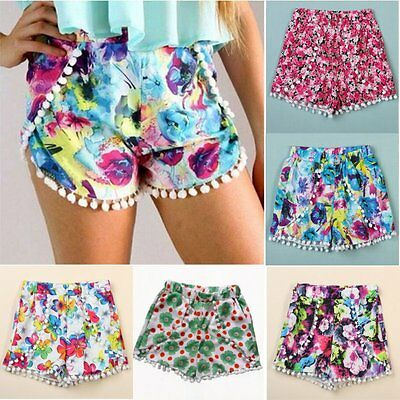 New Women Festival Summer Beach Crochet Lace Shorts Hot Pants Mini Skirt UK 8-20
