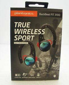 09378a251c1 Image is loading Plantronics-BackBeat-FIT-3100-True-Wireless-Sport-Earbuds-