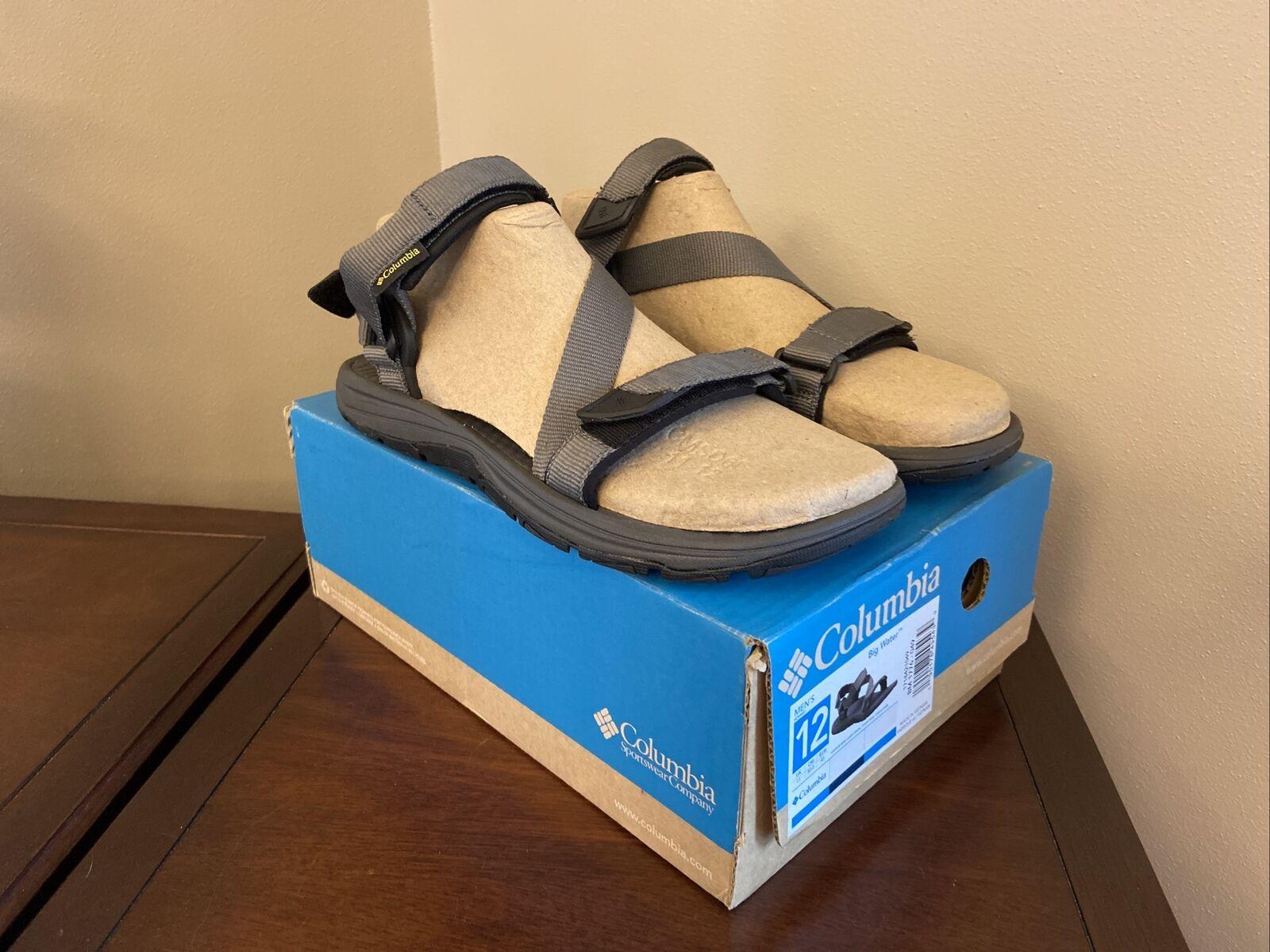 NIB Columbia Big Water Sport Men Sandal Size 12 Grey Brand New