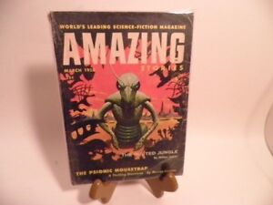 Vintage-Amazing-Stories-Digest-Sci-Fi-March-1955-English-Monthly