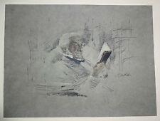 "20CT AMERICAN LITHO PRINT ""PORTRAIT of GLADSTONE"" JOHN MCLURE HAMILTON (Daw)"