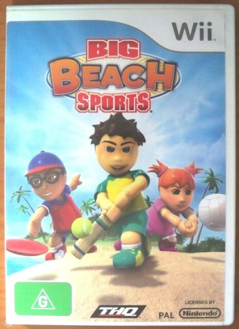 Big Beach Sports, Nintendo Wii Game