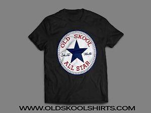 9e77ee27cc4766 CONVERSE ALL STAR CHUCK TAYLOR    OLD SKOOL    Mens T-Shirt  MANY ...