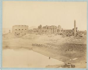 Beato-Egypte-Karnak-Vintage-albumen-print-Antonio-Beato-ne-vers-1825-mort-e