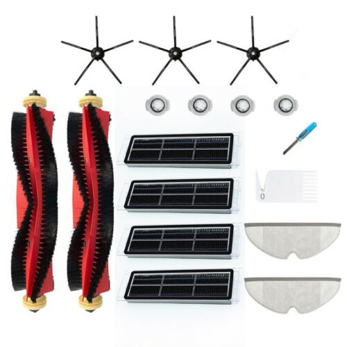 Side Brush Filter Replace Kit For Xiaomi Roborock S6 S60 S65 S5 Vacuum Cleaner