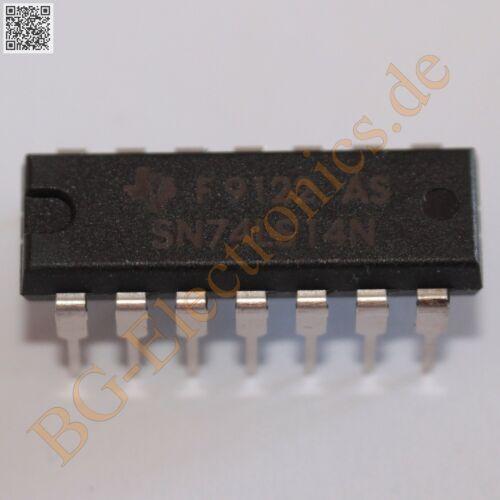 5 x sn74ls14n Hex Schmitt Trigger Inverters Ti dip-14 5pcs