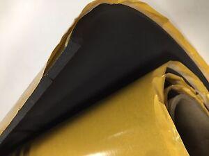 Neopren-Stoff-Selbstklebendes-3mm-Schaumstoff-Daemmung-Schalldaemmung-KFZ-100cm
