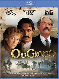 Old Gringo (Blu-ray Disc, 2015) Jane Fonda Gregory Peck Jimmy Smits