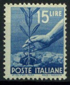 Italia-Repubblica-1945-Sass-560-Nuovo-100-Democratica