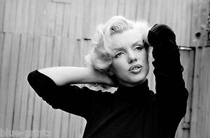 marilyn monroe vintage model antique photo art print black white large painting