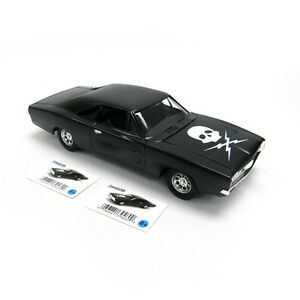 "Ertl 1:24 1969 Dodge Charger R/T Skull Hood - Death Proof - ""Rough Landing"" NEW"
